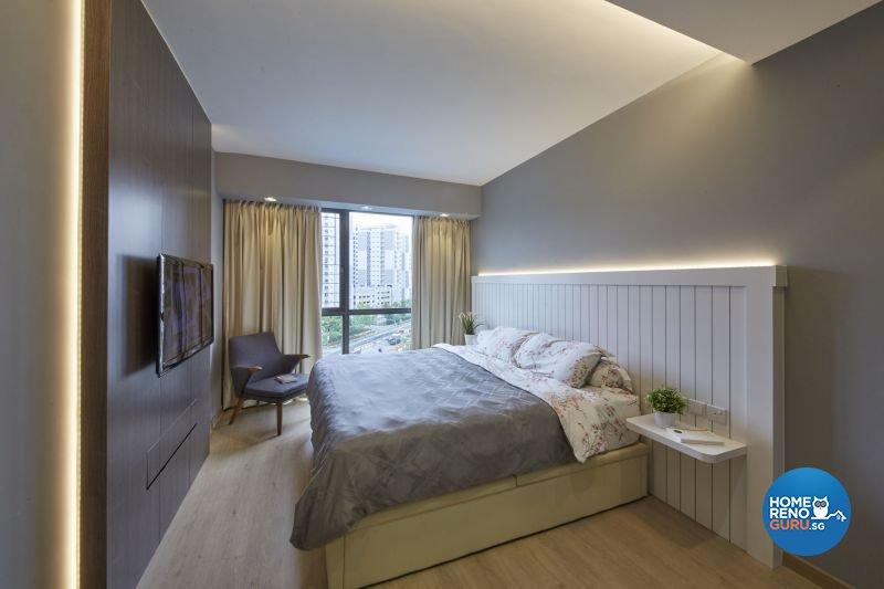 Contemporary, Minimalist Design - Bedroom - Condominium - Design by Carpenters 匠