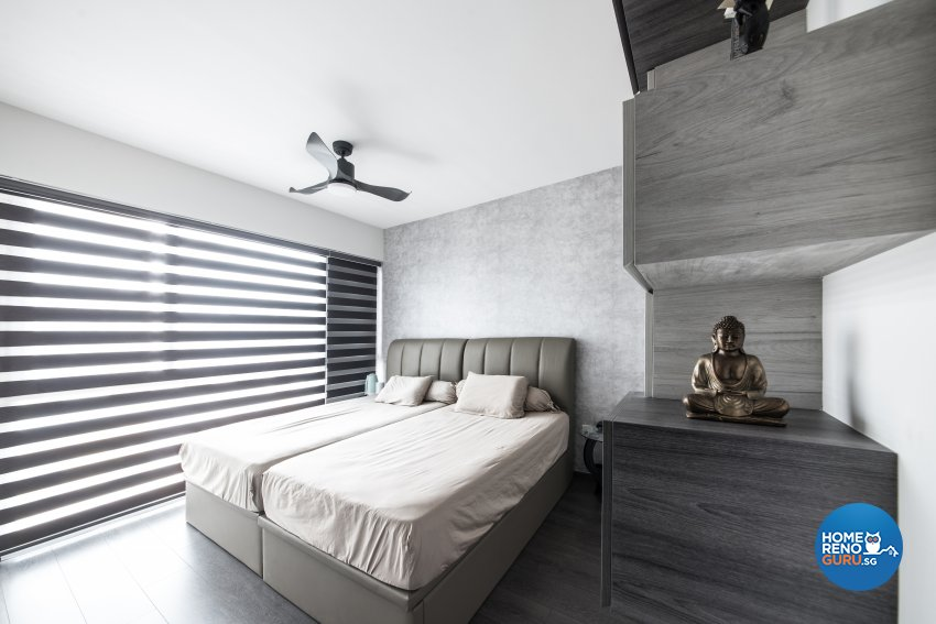 Industrial, Modern Design - Bedroom - Condominium - Design by Carpenters 匠