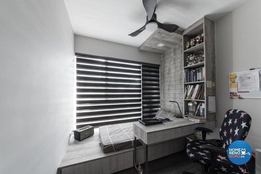 Industrial, Modern Design - Bedroom - Condominium - Design by Carpenters 匠