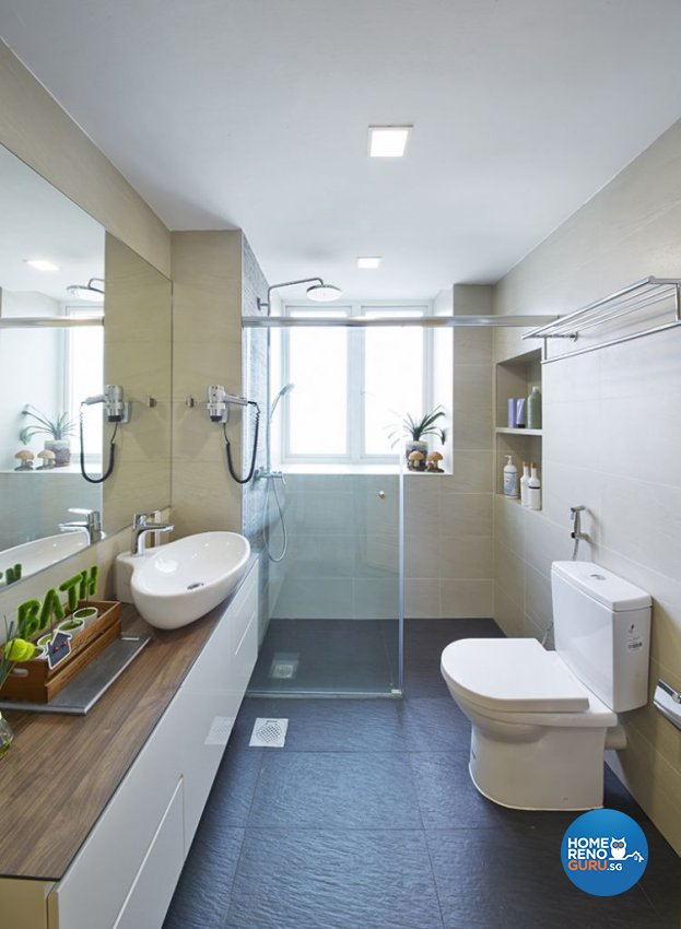 Contemporary, Modern Design - Bathroom - Condominium - Design by Carpenters 匠