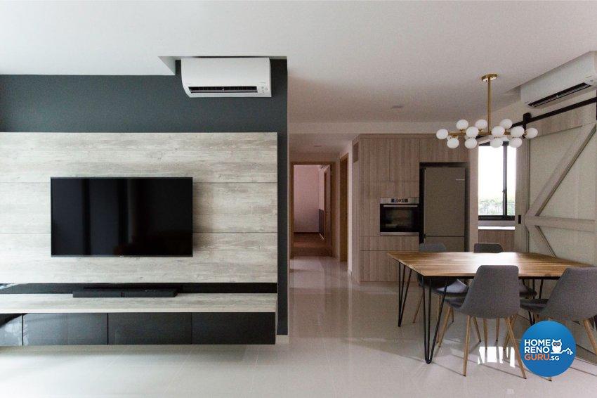 Minimalist, Scandinavian Design - Living Room - Condominium - Design by Carpenters 匠