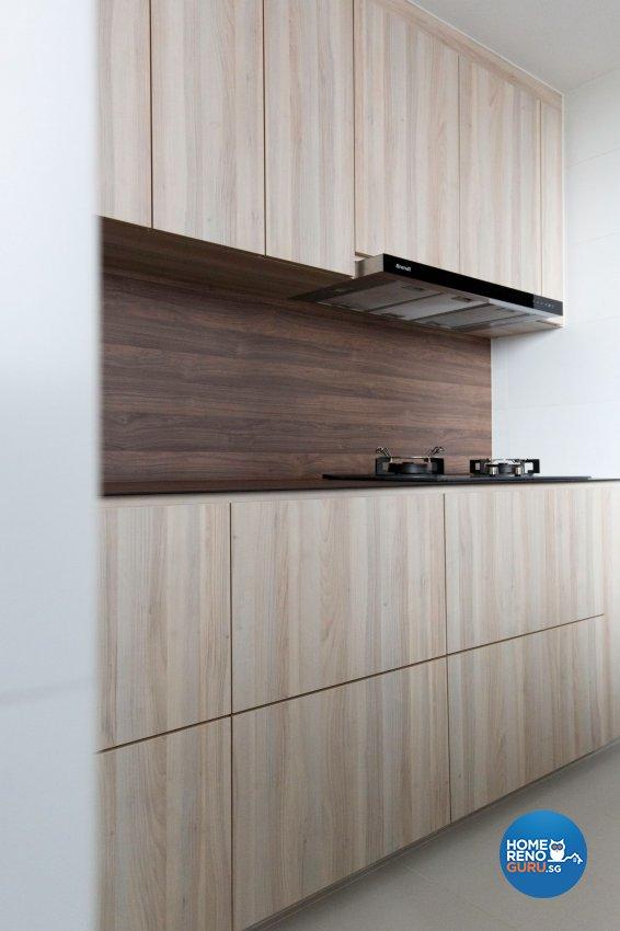 Minimalist, Scandinavian Design - Kitchen - Condominium - Design by Carpenters 匠
