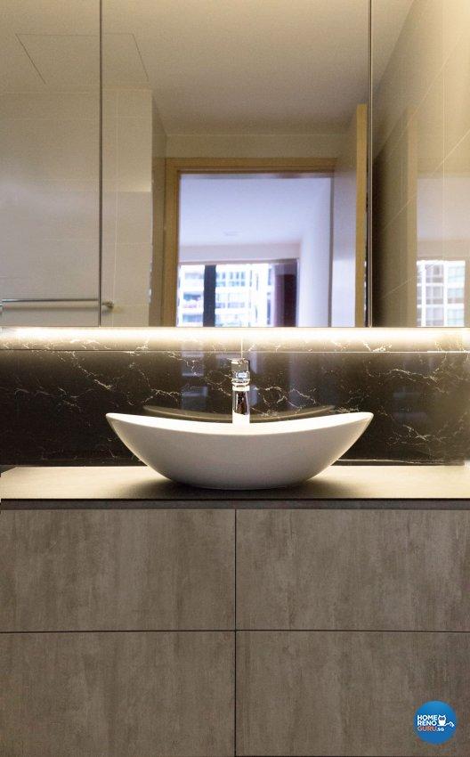 Minimalist, Scandinavian Design - Bathroom - Condominium - Design by Carpenters 匠