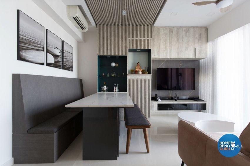 Eclectic, Modern, Scandinavian Design - Living Room - Condominium - Design by Carpenters 匠