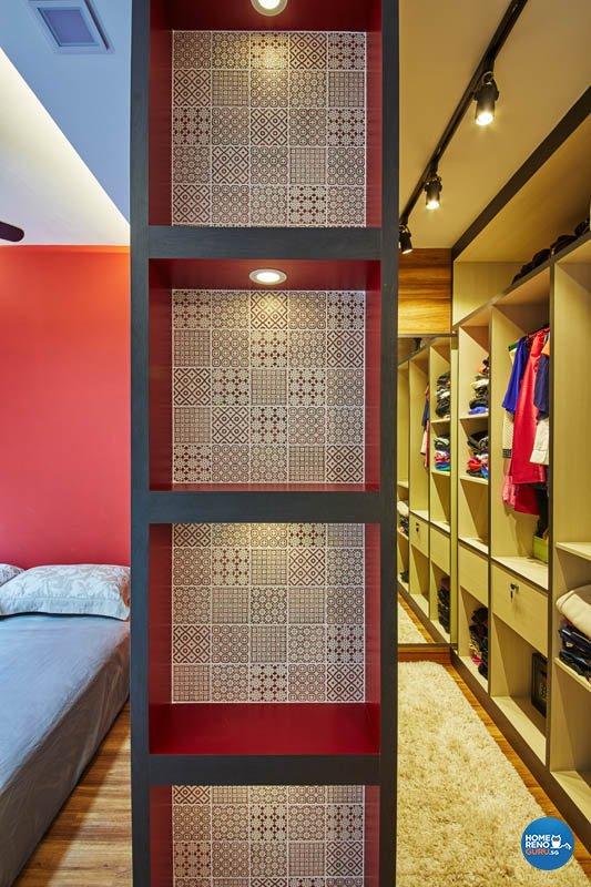 Contemporary, Modern Design - Bedroom - HDB 4 Room - Design by Carpenters 匠
