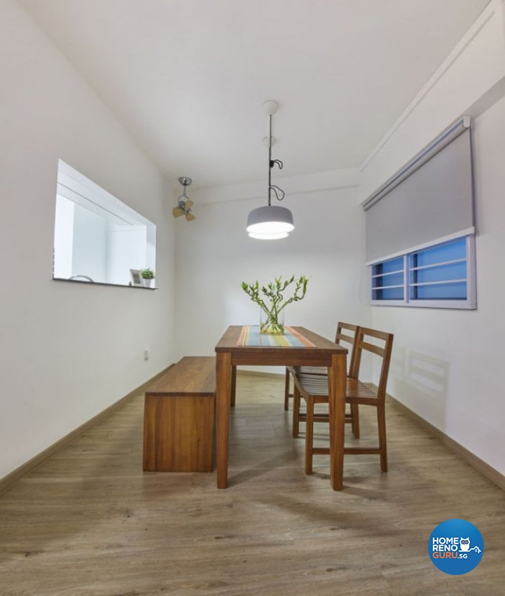 Minimalist, Scandinavian Design - Dining Room - HDB 5 Room - Design by Carpenters 匠