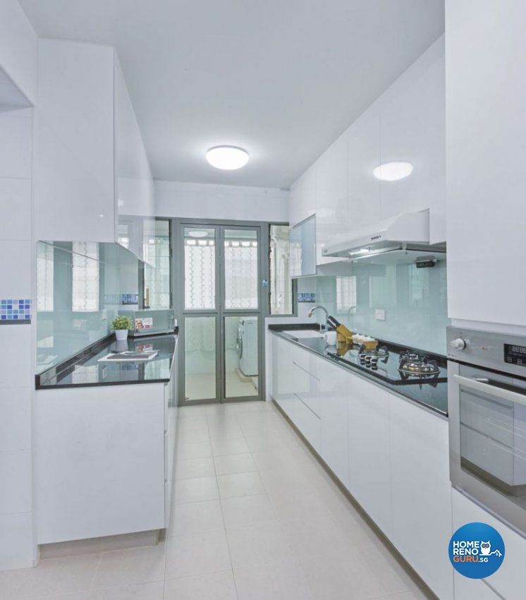 Classical, Minimalist, Modern Design - Kitchen - HDB 4 Room - Design by Carpenters 匠