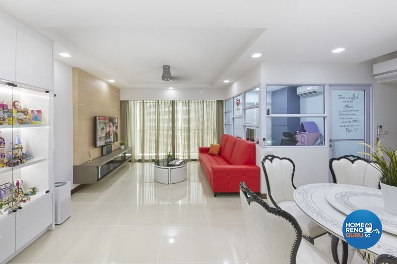 Classical, Minimalist, Modern Design - Living Room - HDB 4 Room - Design by Carpenters 匠
