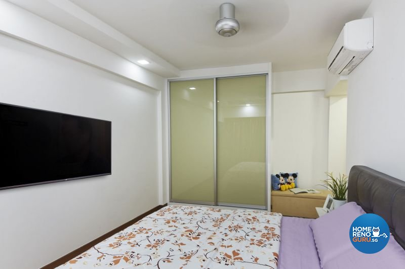 Classical, Minimalist, Modern Design - Bedroom - HDB 4 Room - Design by Carpenters 匠