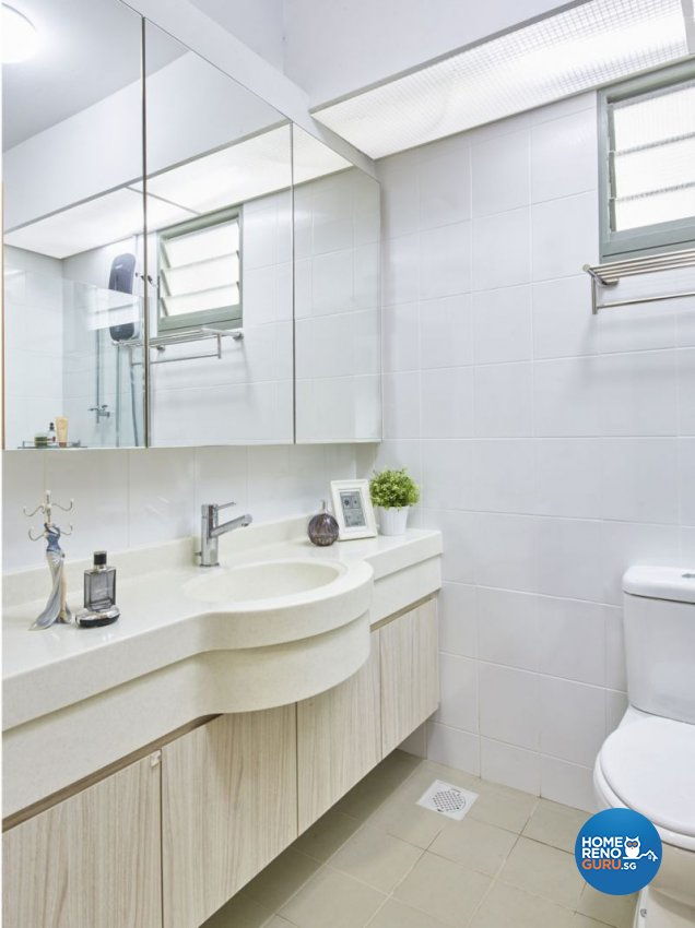 Classical, Minimalist, Modern Design - Bathroom - HDB 4 Room - Design by Carpenters 匠