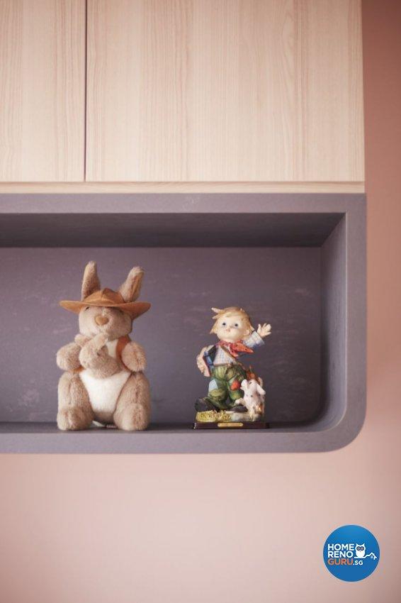 Scandinavian, Tropical Design - Bedroom - HDB 3 Room - Design by Carpenters 匠