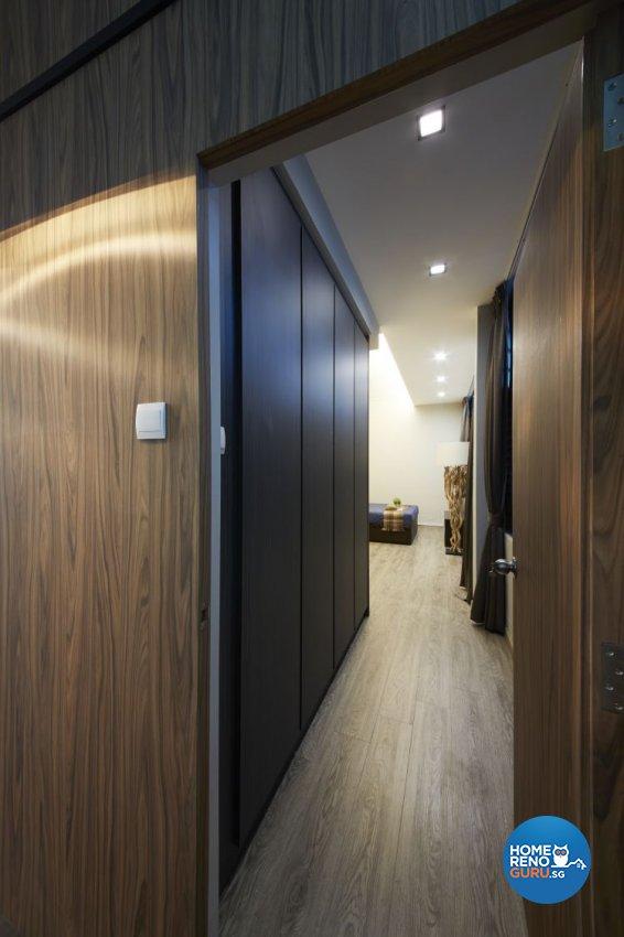 Minimalist, Scandinavian Design - Bedroom - HDB 5 Room - Design by Carpenters 匠