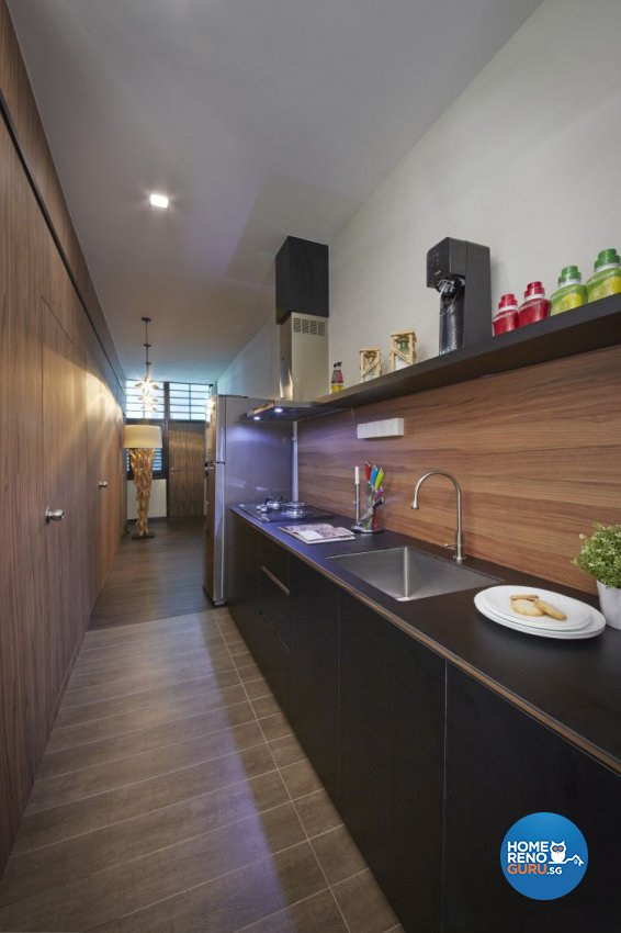 Minimalist, Scandinavian Design - Kitchen - HDB 5 Room - Design by Carpenters 匠