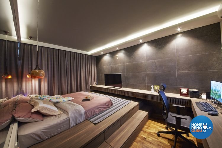 Minimalist, Scandinavian Design - Bedroom - HDB 5 Room - Design by Carpenters 匠