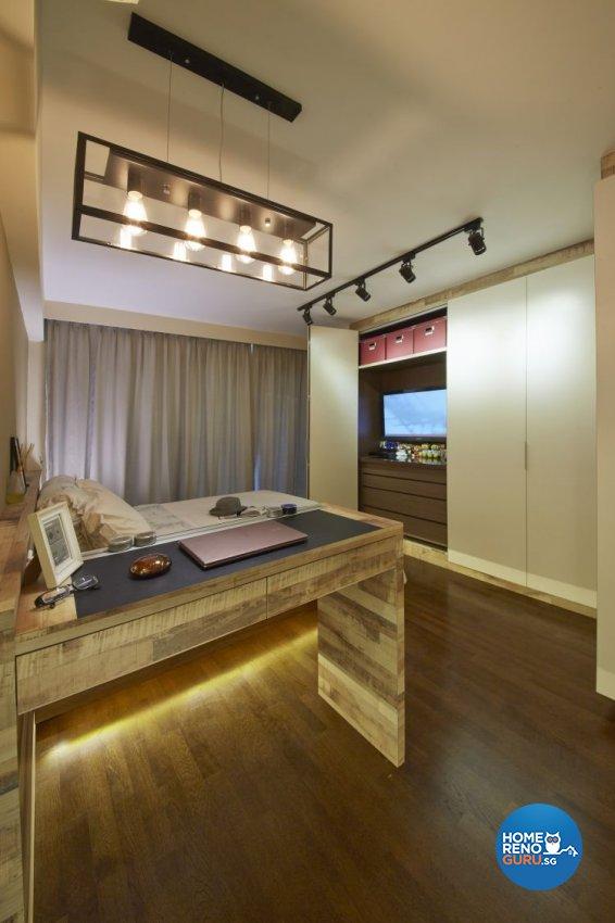 Minimalist, Modern, Scandinavian Design - Bedroom - HDB 4 Room - Design by Carpenters 匠