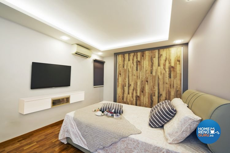 Contemporary, Modern Design - Bedroom - HDB 4 Room - Design by Carpenters 匠