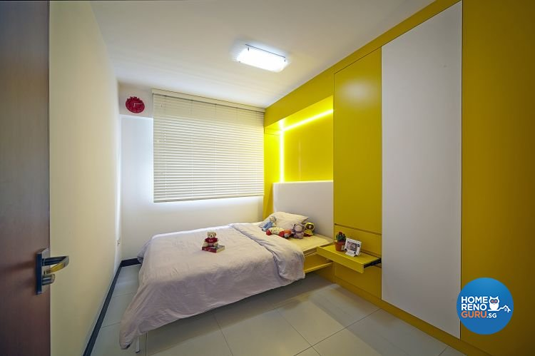 Modern, Retro Design - Bedroom - HDB 5 Room - Design by Carpenters 匠