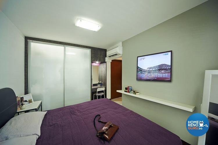 Modern, Retro Design - Bedroom - HDB 5 Room - Design by Carpenters 匠