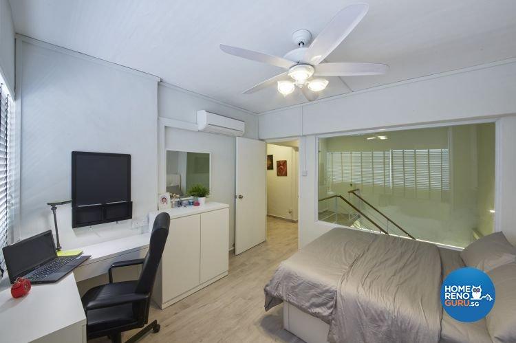 Modern, Scandinavian, Vintage Design - Bedroom - HDB Executive Apartment - Design by Carpenters 匠