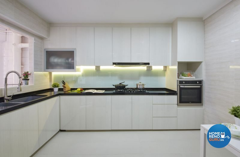 Contemporary, Modern, Scandinavian Design - Kitchen - HDB 4 Room - Design by Carpenters 匠