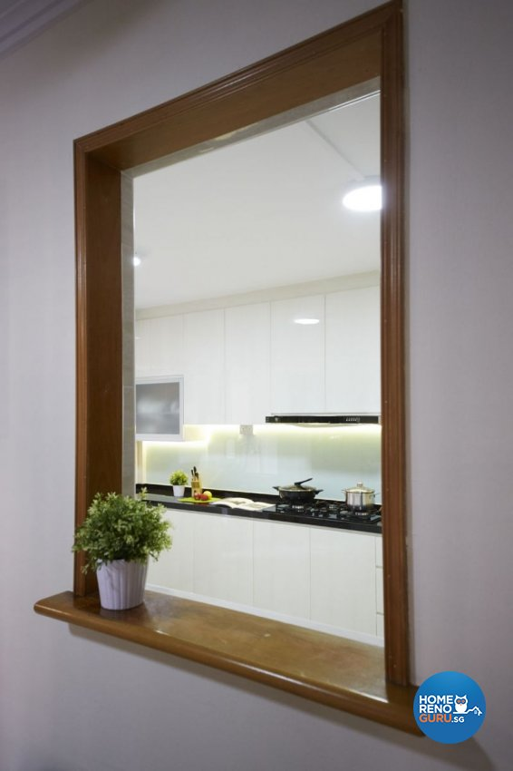 Contemporary, Modern, Scandinavian Design - Kitchen - HDB 4 Room - Design by Carpenters 匠
