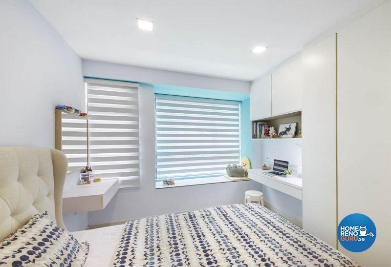 Contemporary, Minimalist, Modern Design - Bedroom - HDB 5 Room - Design by Carpenters 匠