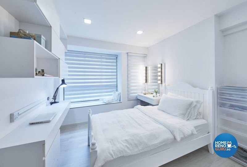 Contemporary, Minimalist, Modern Design - Bedroom - HDB 5 Room - Design by Carpenters 匠