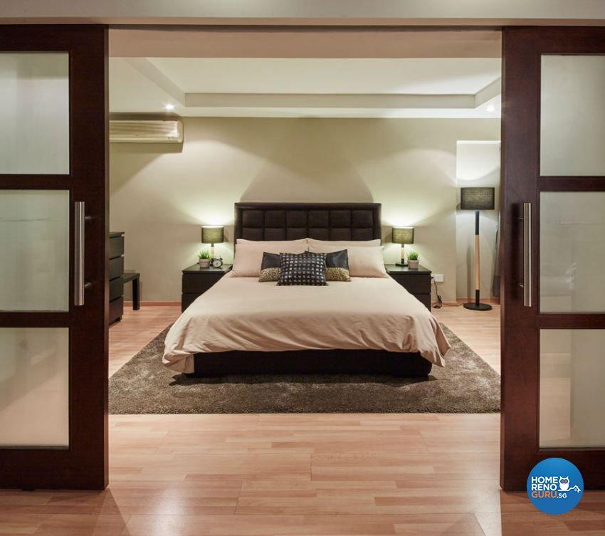 Rustic, Scandinavian Design - Bedroom - HDB 4 Room - Design by Carpenters 匠