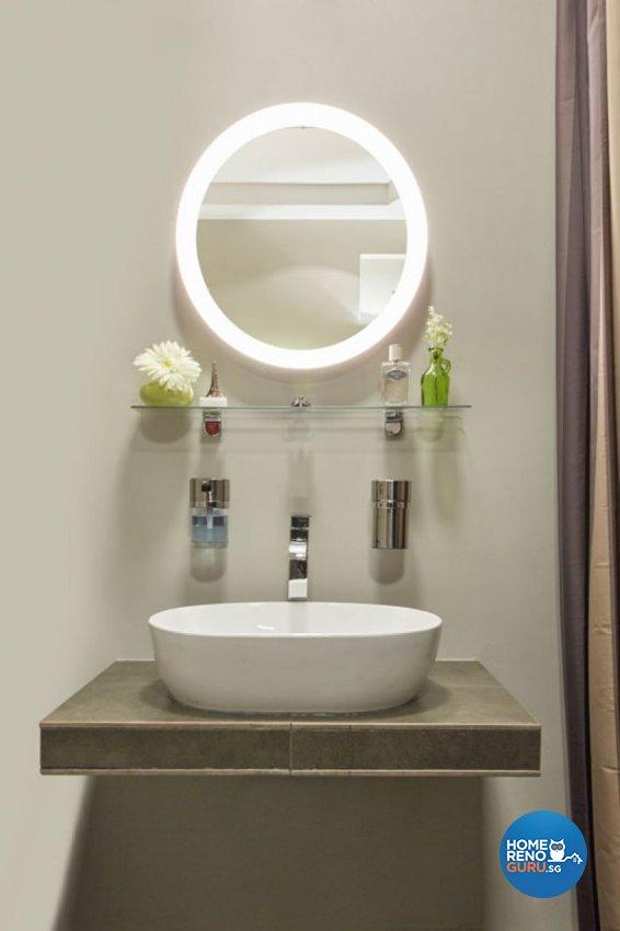 Rustic, Scandinavian Design - Bathroom - HDB 4 Room - Design by Carpenters 匠