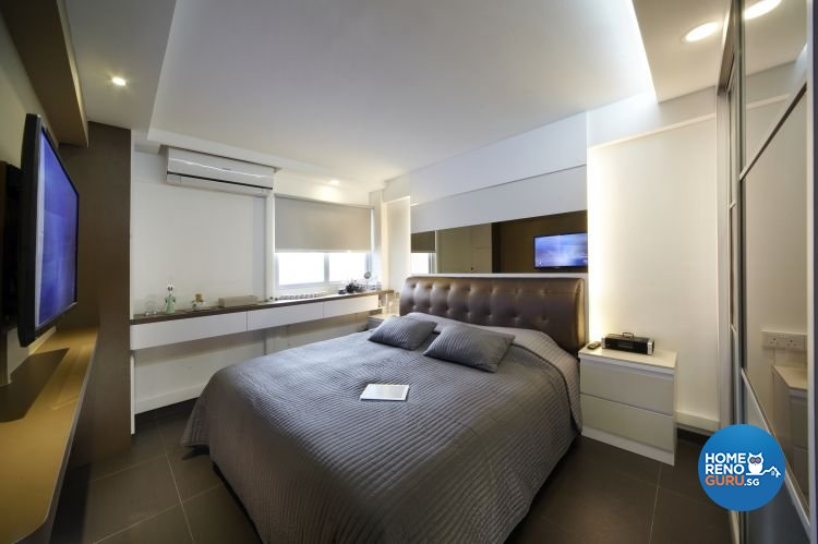 Mediterranean, Resort, Scandinavian Design - Bedroom - HDB 4 Room - Design by Carpenters 匠