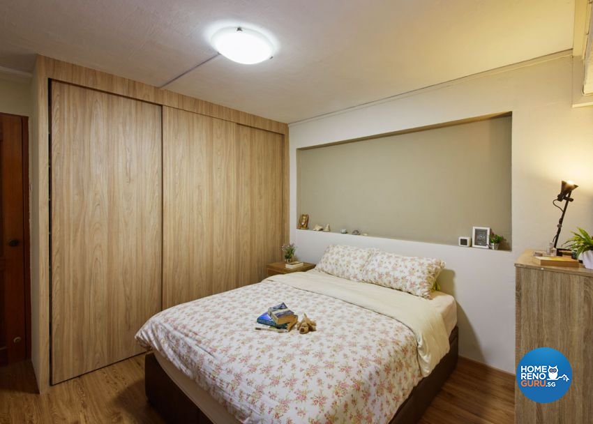 Scandinavian Design - Bedroom - HDB 5 Room - Design by Carpenters 匠