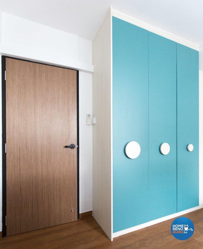 Minimalist, Modern Design - Bedroom - HDB 5 Room - Design by Carpenters 匠