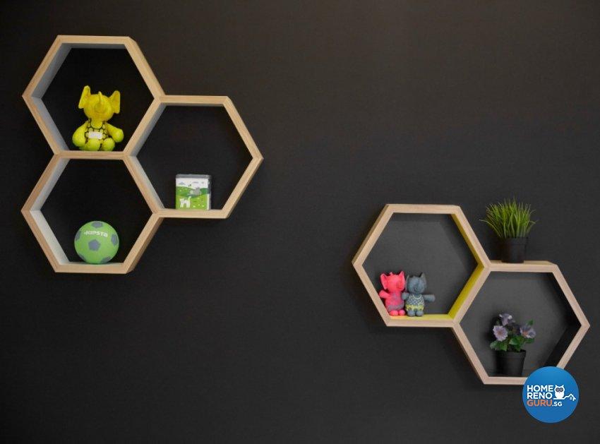Industrial, Modern Design - Living Room - Condominium - Design by Carpenters 匠