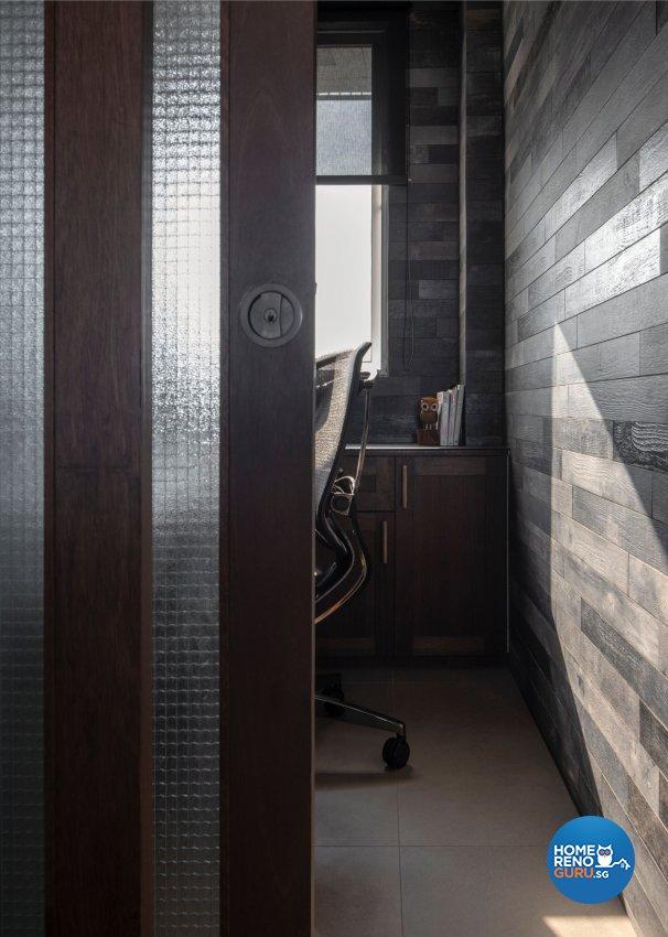 Country Design - Entertainment Room - Condominium - Design by Carpenters 匠