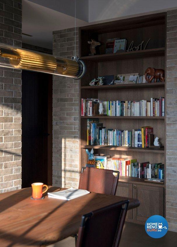 Country Design - Study Room - Condominium - Design by Carpenters 匠