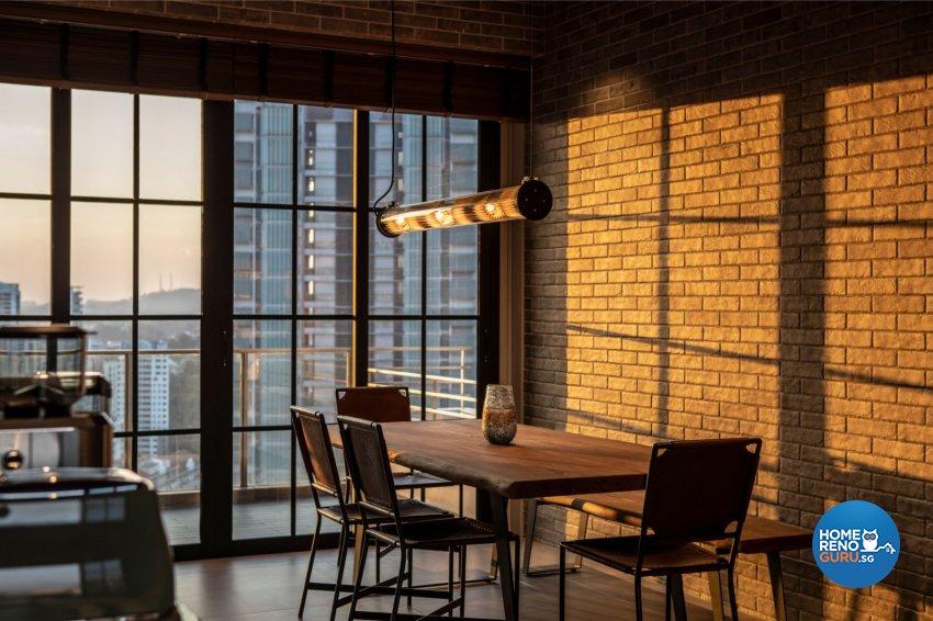 Country Design - Dining Room - Condominium - Design by Carpenters 匠