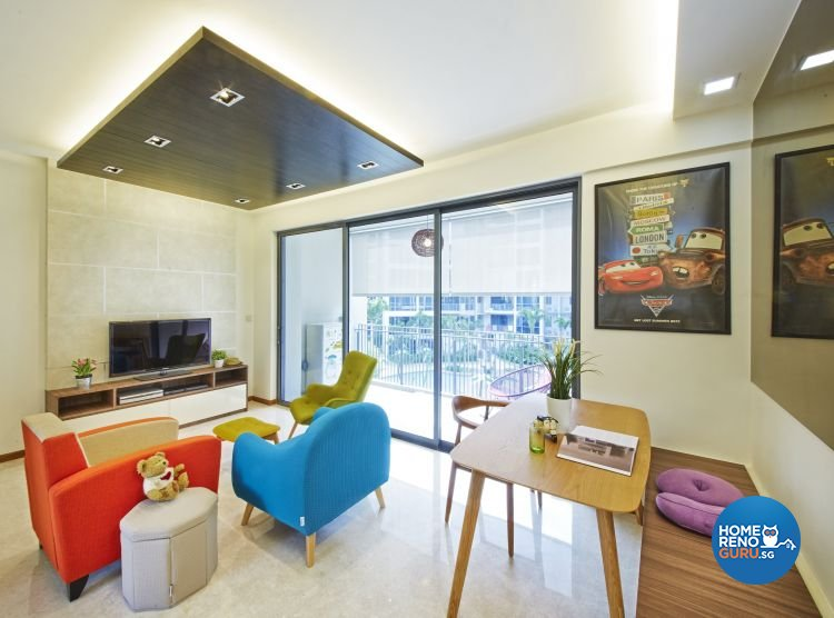 Contemporary, Eclectic, Modern Design - Dining Room - Condominium - Design by Carpenters 匠