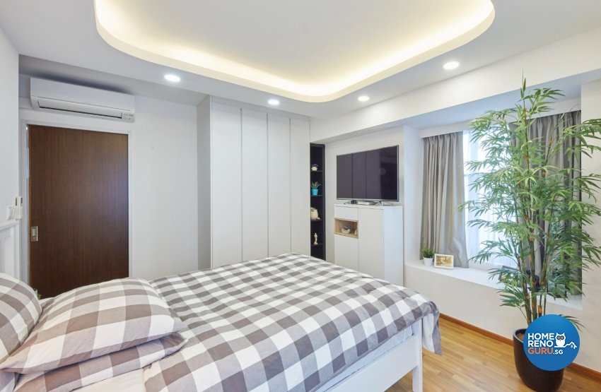 Minimalist, Modern, Scandinavian Design - Bedroom - HDB 4 Room - Design by Carpenters 匠