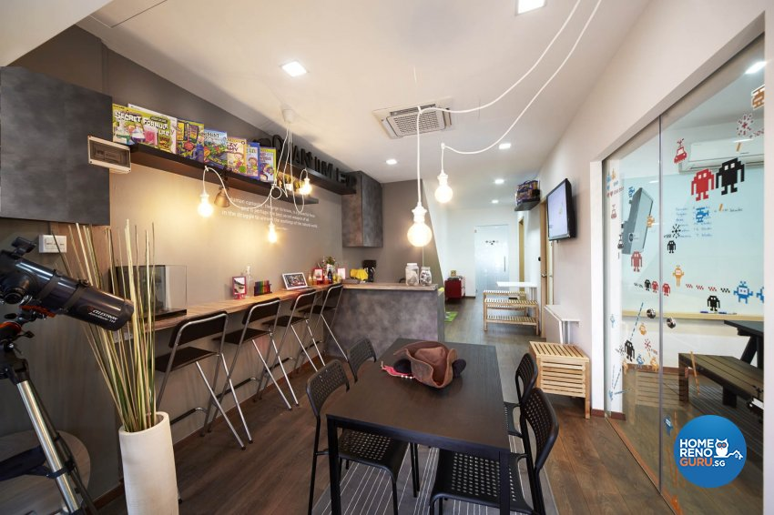 Eclectic, Industrial Design - Commercial - Office - Design by Carpenters 匠