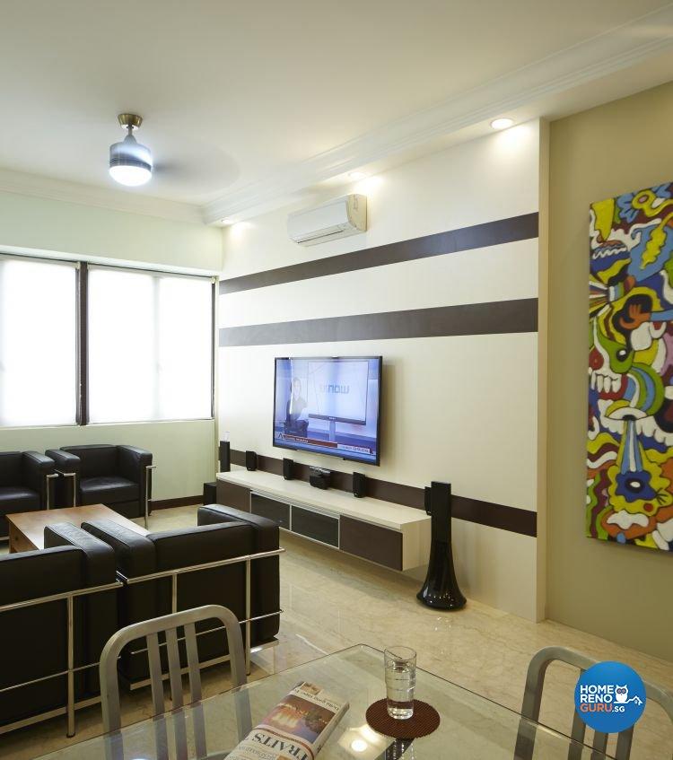 Contemporary, Eclectic, Modern Design - Living Room - Condominium - Design by Carpenters 匠