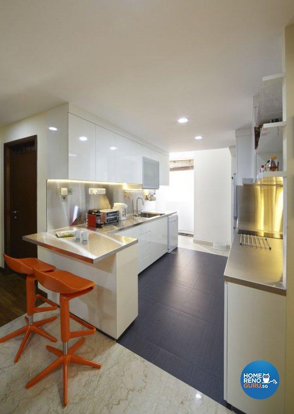 Contemporary, Eclectic, Modern Design - Entertainment Room - Condominium - Design by Carpenters 匠