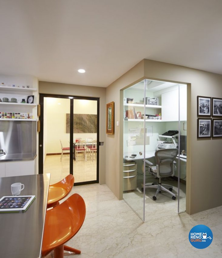 Contemporary, Eclectic, Modern Design - Study Room - Condominium - Design by Carpenters 匠