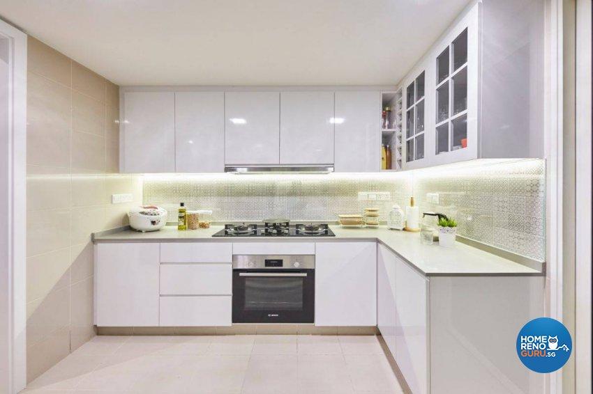 Contemporary Design - Kitchen - Condominium - Design by Carpenters 匠