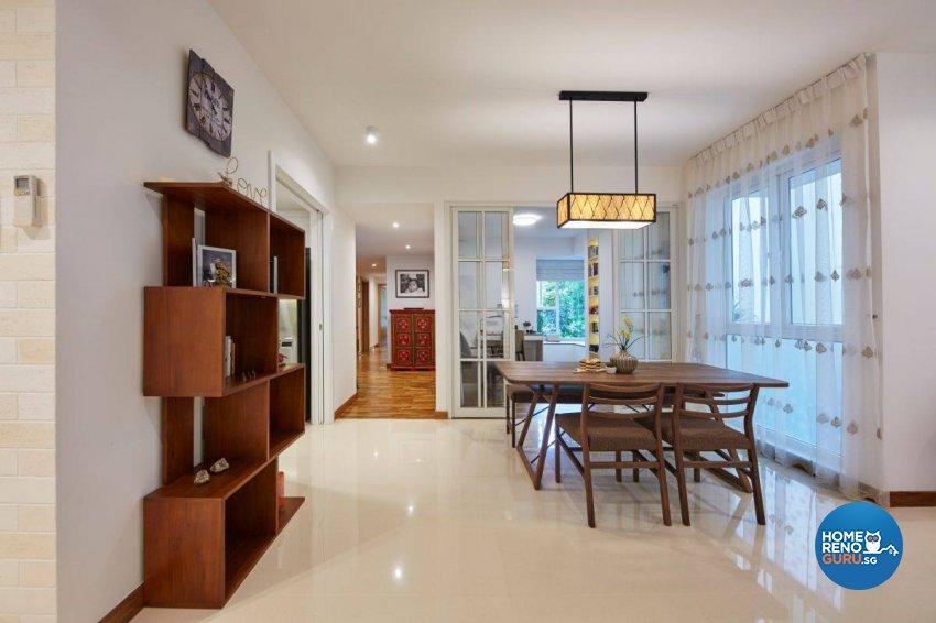 Contemporary Design - Dining Room - Condominium - Design by Carpenters 匠