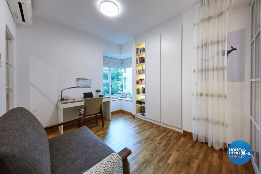 Contemporary Design - Study Room - Condominium - Design by Carpenters 匠