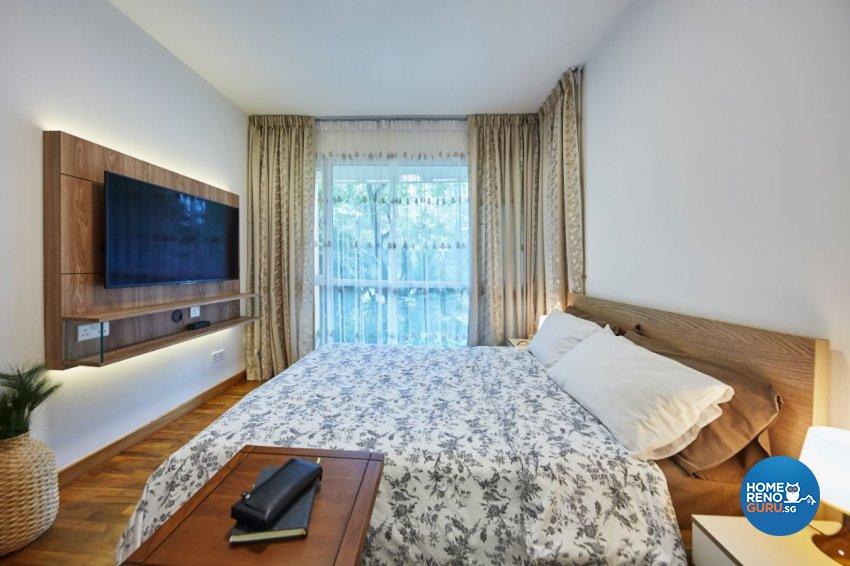 Contemporary Design - Bedroom - Condominium - Design by Carpenters 匠