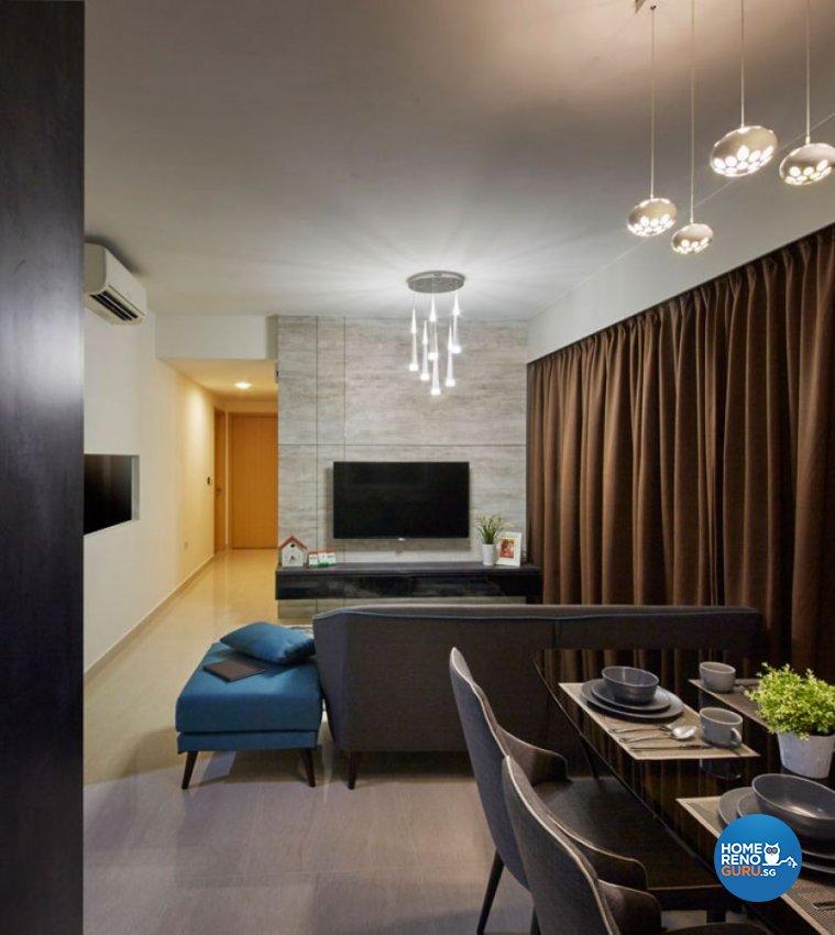 Classical, Modern Design - Living Room - Condominium - Design by Carpenters 匠