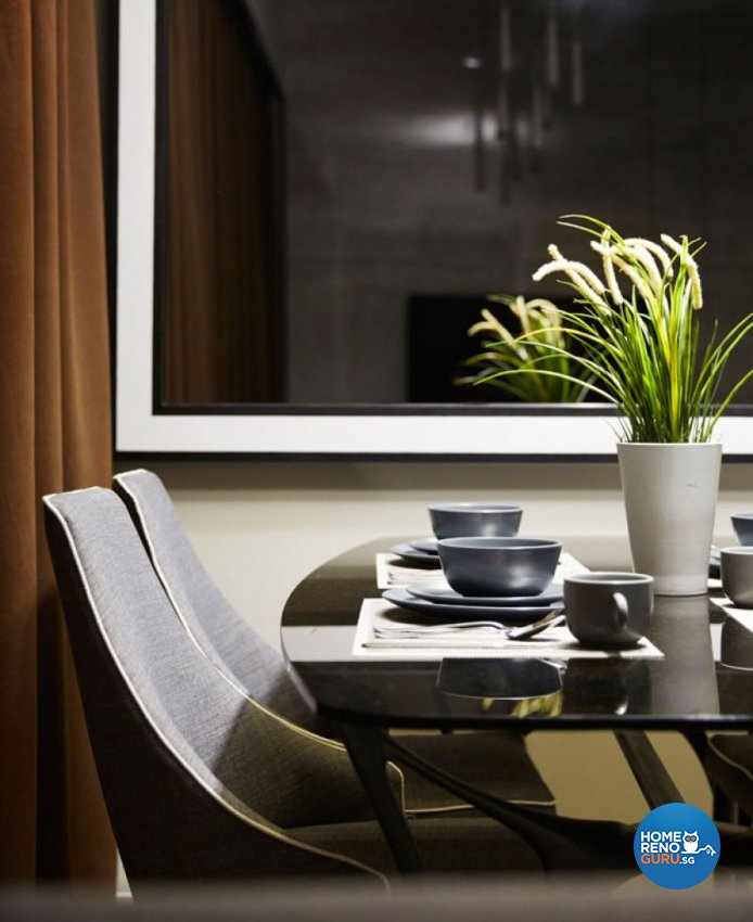 Classical, Modern Design - Dining Room - Condominium - Design by Carpenters 匠