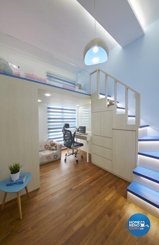 Country, Modern Design - Bedroom - Condominium - Design by Carpenters 匠