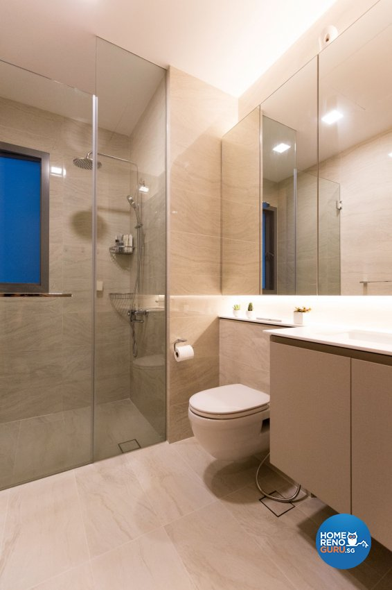 Modern Design - Bathroom - Condominium - Design by Carpenters 匠